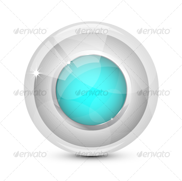 Glass button - Web Technology