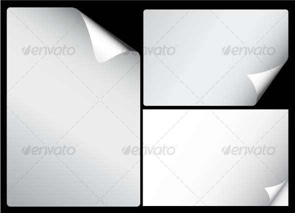 GraphicRiver Paper pages 86053