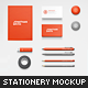 Bird's Eye View Stationery Mock-up - GraphicRiver Item for Sale