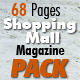 68 Pages Shopping Mall Magazine Pack