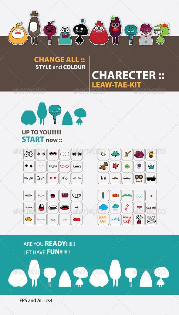 GraphicRiver CHARACTER LEAW-TAE-KID 2299656