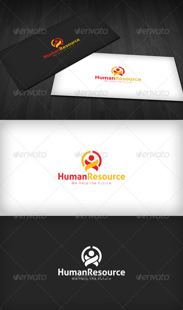 GraphicRiver Human Resources Logo 2276059