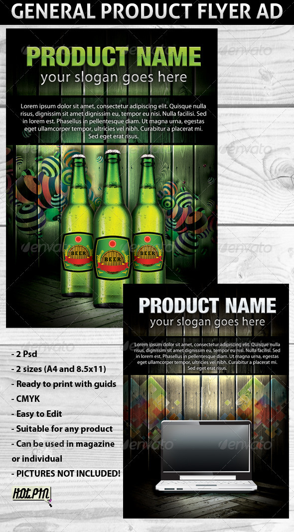 Product Flyer Ad Template - Commerce Flyers