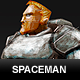 Spaceman Concept - 3DOcean Item for Sale
