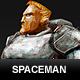 Spaceman Concept - 3DOcean Item for Sale