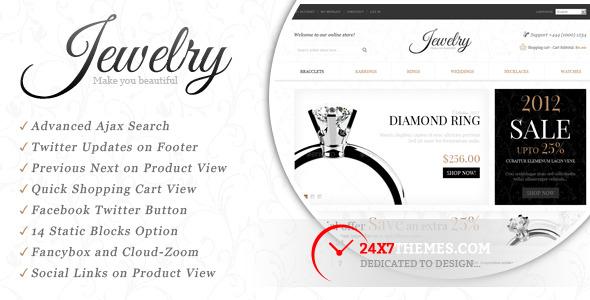 Jewelry Store Magento Theme