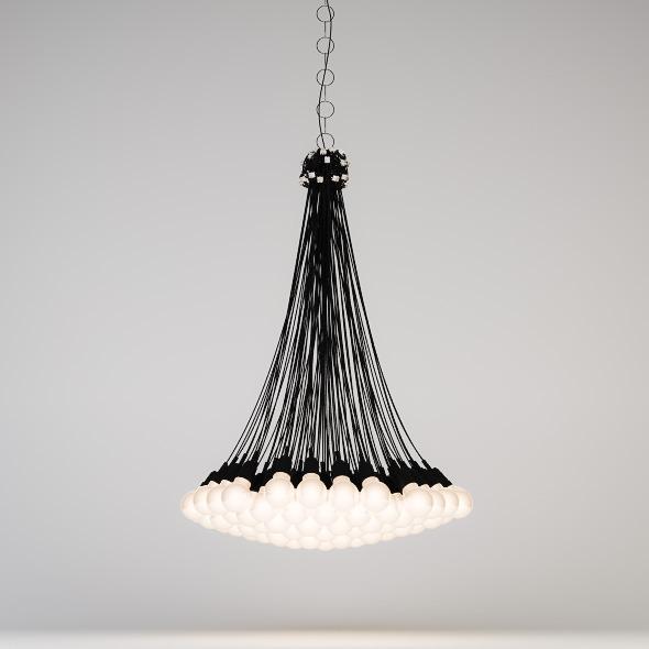 85 Lamps Chandelier - 3DOcean Item for Sale