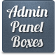 Admin Panel Boxes - Web Interface - GraphicRiver Item for Sale