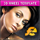 3D Wheel XML Template w/ flickr & YouTube Support - ActiveDen Item for Sale