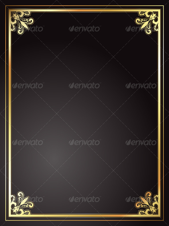 Decorative frame - Borders Decorative