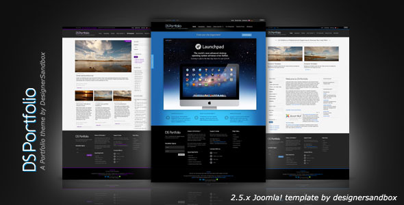 DS Portfolio Joomla! Templates - Mobile Ready