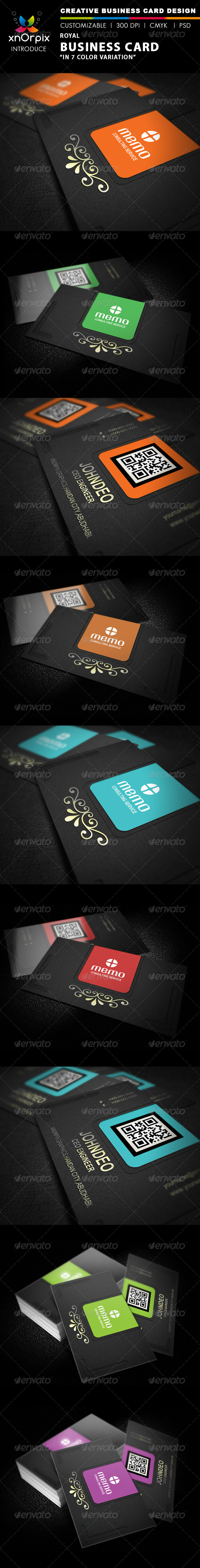 GraphicRiver Royal Business Card 2323819