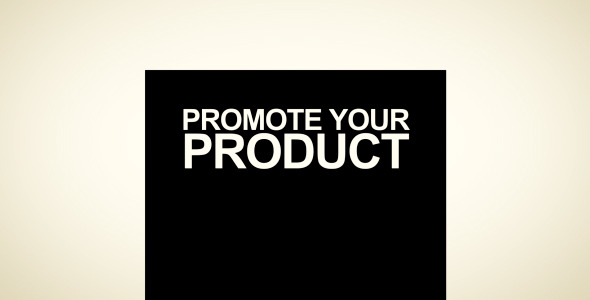 VideoHive Promote Your Product 2323829