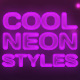 Elegant Neon Effects & Styles - GraphicRiver Item for Sale