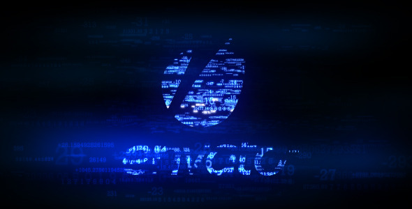 After Effects Project - VideoHive Digital Logo Reveal 2324394