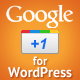 Google +1 for WordPress