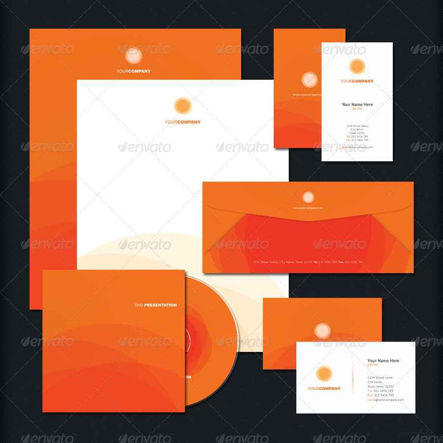 corporate identity by emvalibe graphicriver