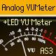Analog VUMeter - Vintage Instruments and MP3 Player - ActiveDen Item for Sale