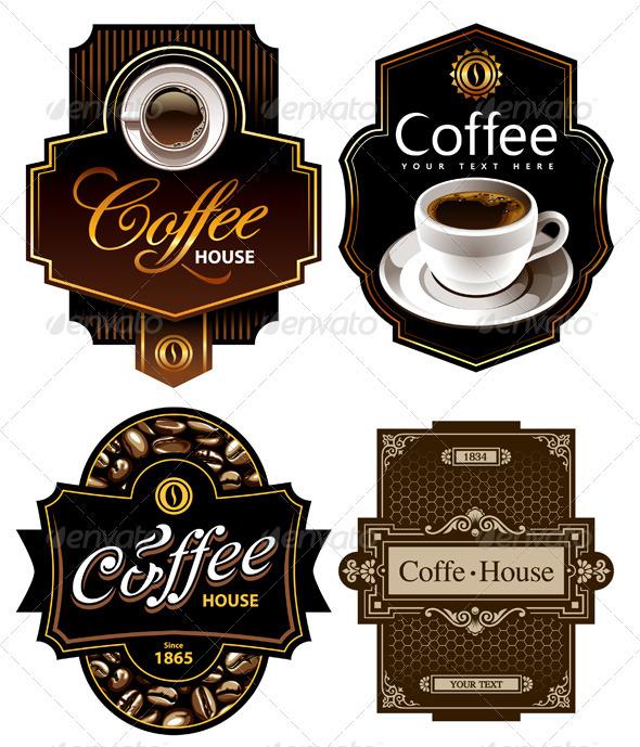 GraphicRiver Four coffee design templates 263359