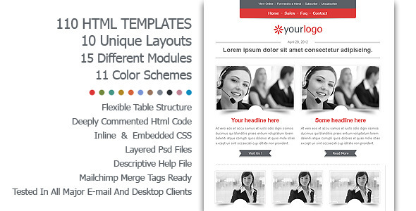 E-Business HTML Email Template - Email Templates Marketing