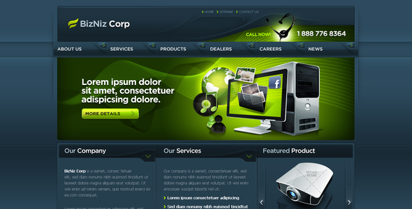 Business Template #09 - Business Corporate