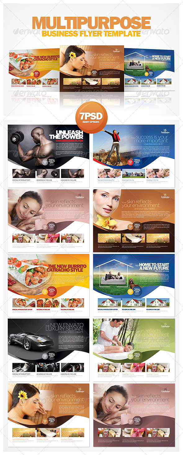 Multipurpose Business Flyer Template - Corporate Flyers