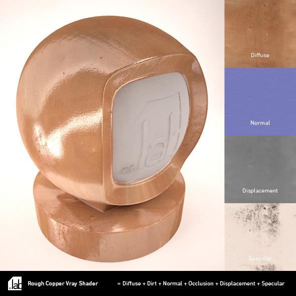 3DOcean Rough Copper 2328385