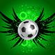 Download Vector Grunge Football Background