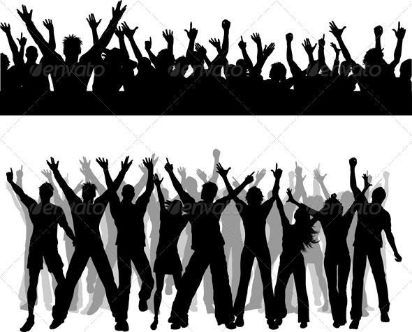 GraphicRiver Crowd scenes 2329266
