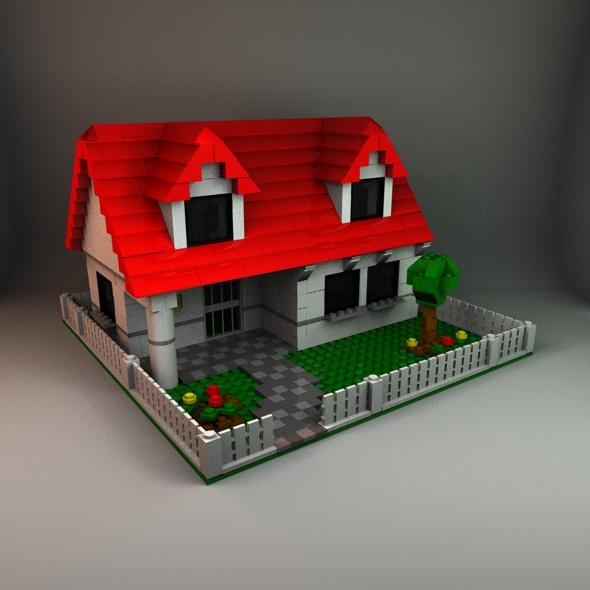 3DOcean Lego House 86463
