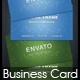Creative Business Card v2 - GraphicRiver Item for Sale