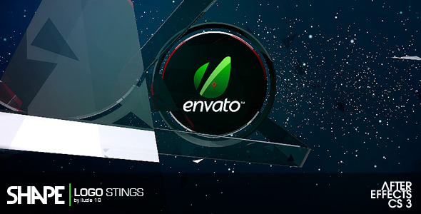 After Effects Project - VideoHive Shape Logo Sting 2332514