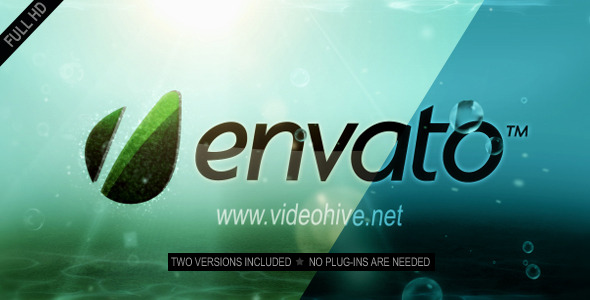 After Effects Project - VideoHive Underwater Logo Reveal 2311030
