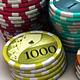 Poker Chips 3D Model
