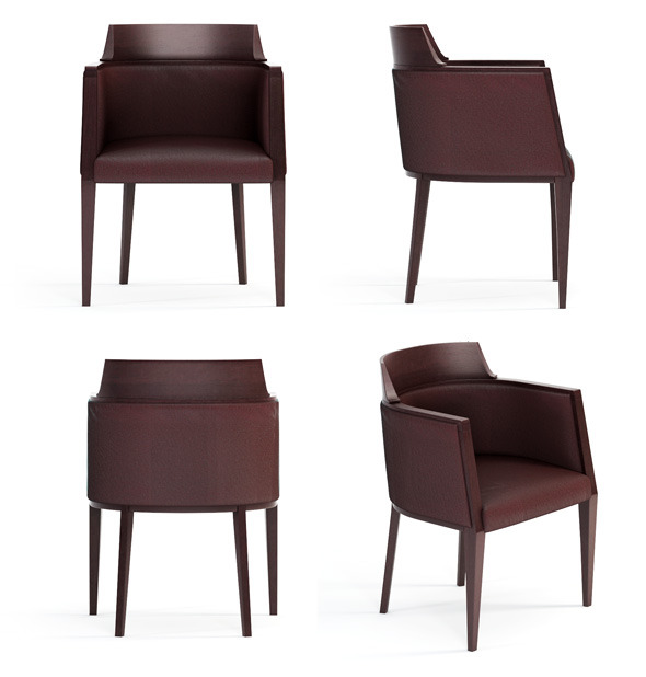 3DOcean Quality 3dmodel of modern chair Juliet Bross 2334591