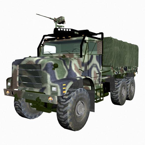 3DOcean Mvtr military vehicle 2335164