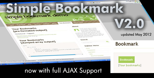 CodeCanyon Simple Bookmark 79865