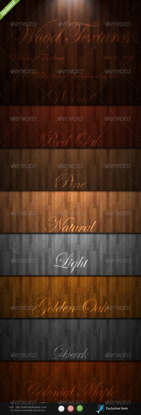 GraphicRiver Wood Textures 135084