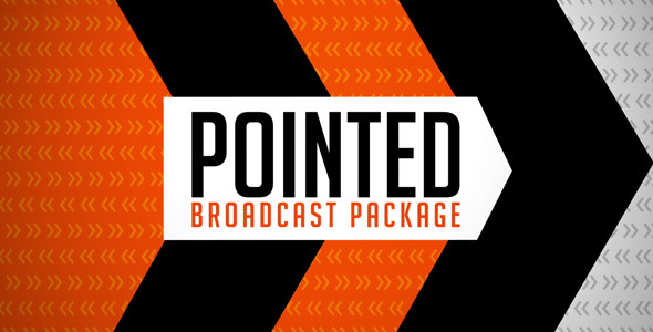 After Effects Project - VideoHive Pointed Broadcast Package 2336317