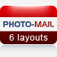 PHOTO-MAIL – Email Template – 6 Layouts  Free Download