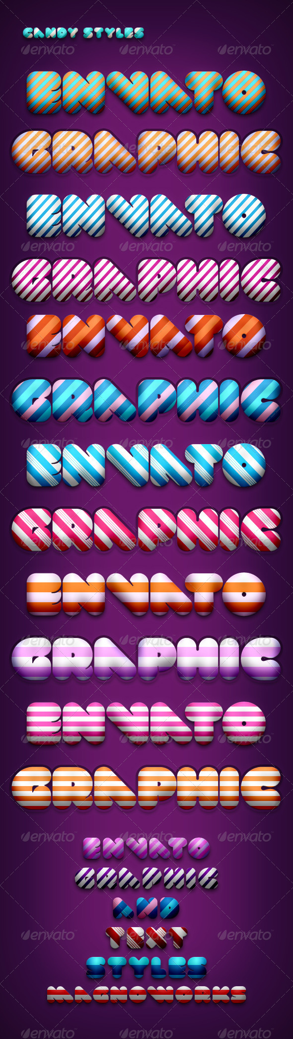 GraphicRiver Candy Styles 158048