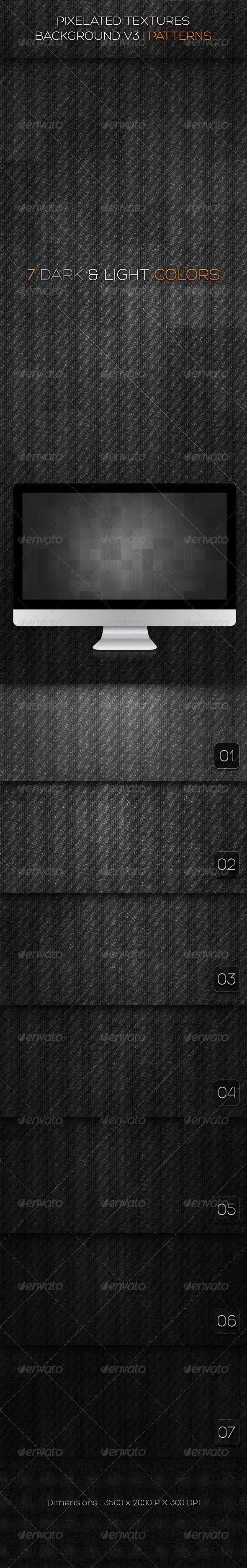 Pixelated textures background v3 | Patterns  - Patterns Backgrounds