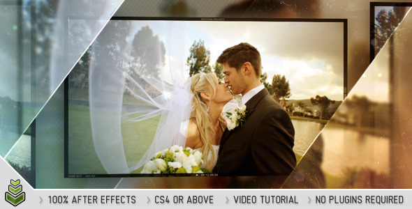After Effects Project - VideoHive Glossy Wedding 2337122