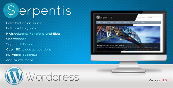 Serpentis - Business Wordpress Theme