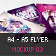 A4 - A5 Flyer Mockup 03 - GraphicRiver Item for Sale