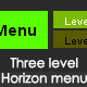 Dynamic horizon xml menu - ActiveDen Item for Sale