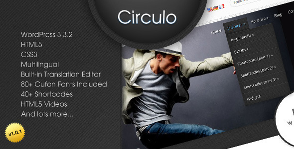Circulo - Premium Multilingual WP Theme - Theme preview