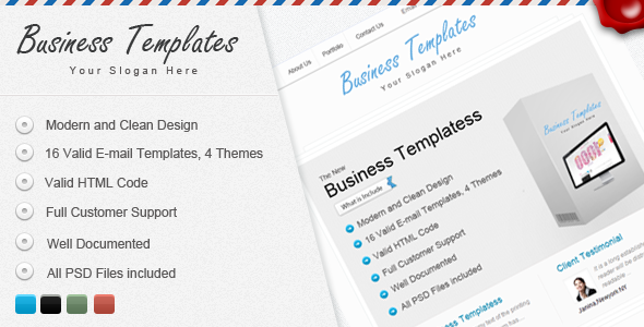 Bussiness Templates - ThemeForest Item for Sale