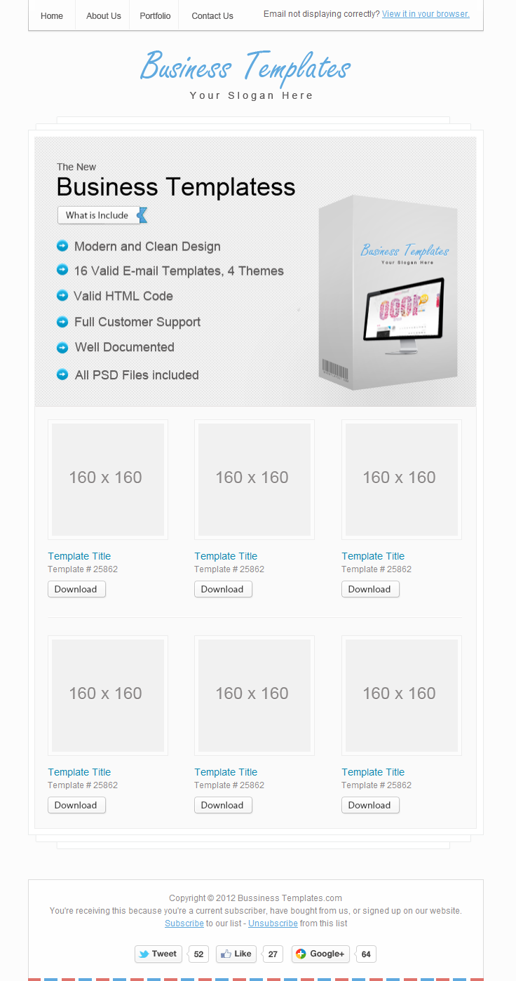 Bussiness Templates