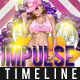 Impulse Timeline Cover  - GraphicRiver Item for Sale